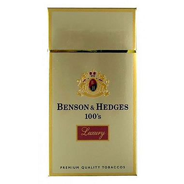Benson & Hedges Luxury 100's Box 1 Carton