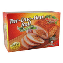 Big Easy Foods Tur-Duc-Hen Roll with Creole Sausage