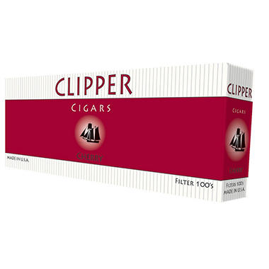 Clipper Cigars Cherry 100s - 200 ct.