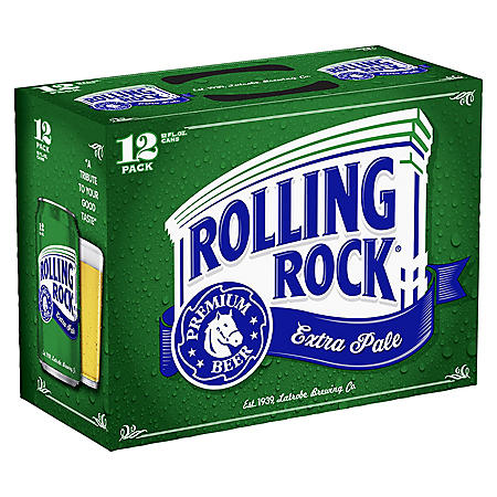 Rolling Rock Lager (12 fl. oz. can, 12 pk.)