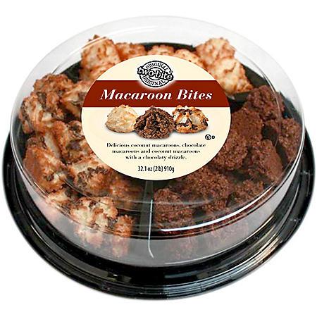 two-bite Macaroon Bites Party Tray - 32 oz.