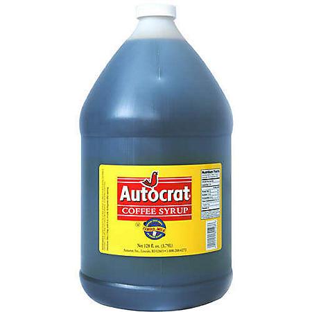 Autocrat Coffee Syrup - 1 gal.
