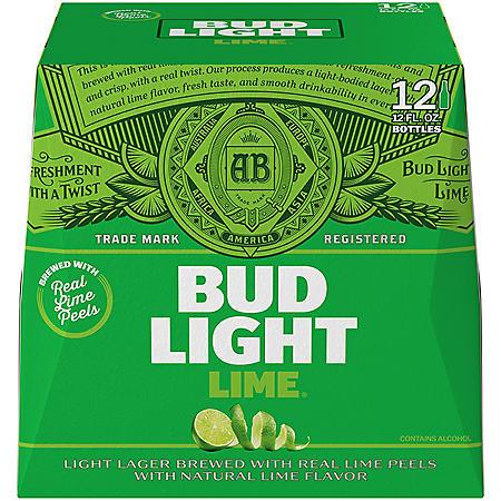 Bud Light Lime Beer (12 fl. oz. bottle, 12 pk.)