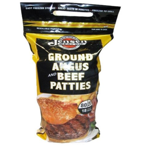 Premium Ground Beef Patties