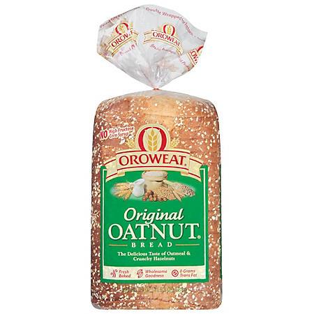 Oroweat Original Oatnut Bread (24 oz. loaves, 2 pk.)