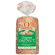 Oroweat Original Oatnut Bread (24 oz. loaves, 2 pk.)
