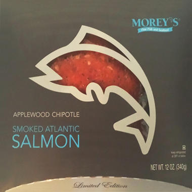 Morey's Applewood Chipotle Smoked Atlantic Salmon