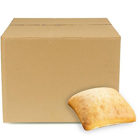 Ciabatta Rolls, Bulk Wholesale Case (80 ct.)