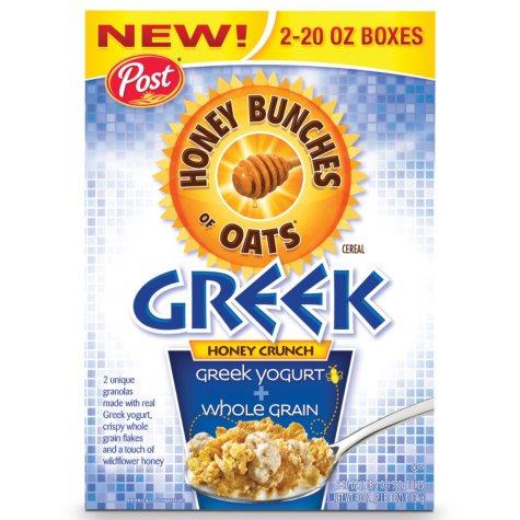 Post Honey Bunches of Oats with Greek Yogurt - 40 oz.