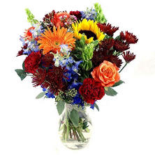 Moonlight Party Bouquet (20 stems with vase)