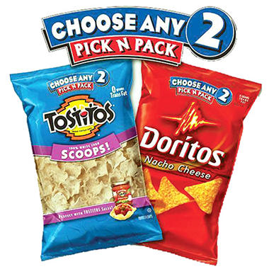 2 Bags of Pick n Pack Chips
