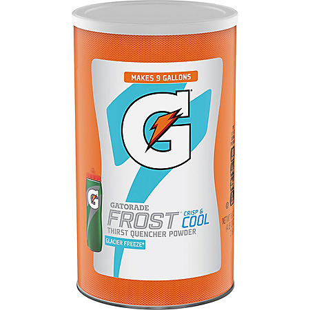 Gatorade Thirst Quencher Powder, Frost Glacier Freeze (76 oz.)