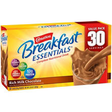 Carnation Breakfast Essentials Nutritional Drink, Chocolate (30 ct.)