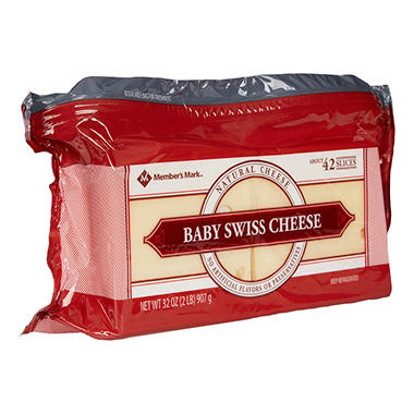 Member's Mark Baby Swiss Cheese Slices (2 lbs.)