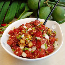 Hawaiian Select Shoyu Ahi Tuna Poke (5 lb. ready-to-mix kit)