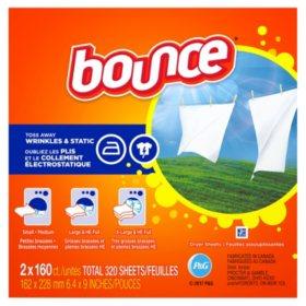 Bounce Dryer Sheets (6pk.,160ct.ea.,960 total sheets)