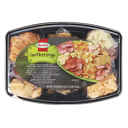 Hormel Meat, Cheese and Cracker Gatherings Tray (52 oz.)