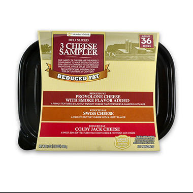 Member's Mark Reduced Fat Slice Variety Tub (1.5 lbs.)
