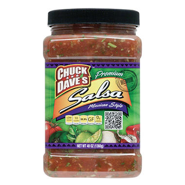 Chuck & Dave's Mexican Style Medium Salsa (48 oz.)