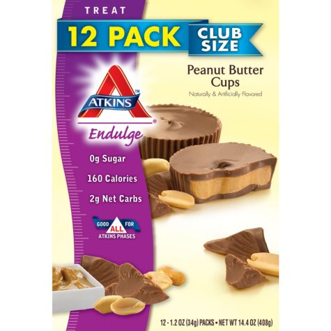 Atkins Endulge Peanut Butter Cups (1.2 oz., 12 ct.)