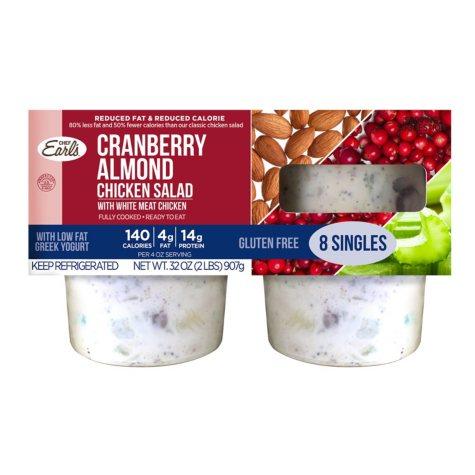 Cranberry Almond Chicken Salad (32 oz., 8 ct.)