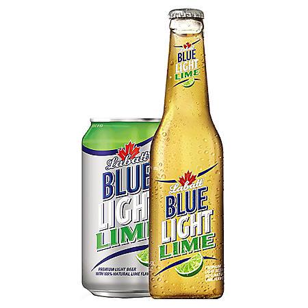 Labatt Blue Light Lime (11.5 oz. bottles, 12 pk.)