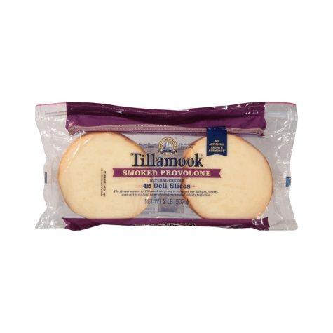Tillamook Sliced Smoked Provolone (2 lbs.)