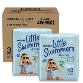 Huggies Little Swimmers Swimpants Bundle (Choose Your Size)