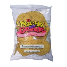 Gold Medal El Grande Nacho Chips 3 oz. (48 ct.)