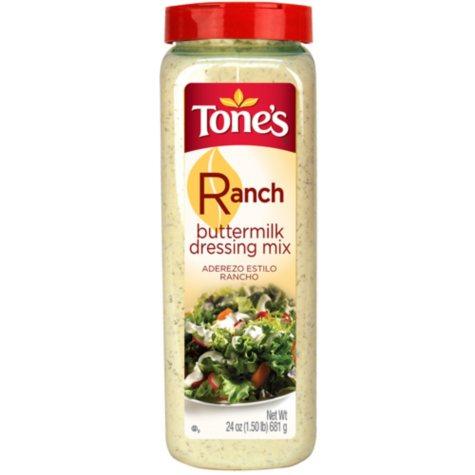 Tone's Ranch Buttermilk Dressing Mix (24 oz.)