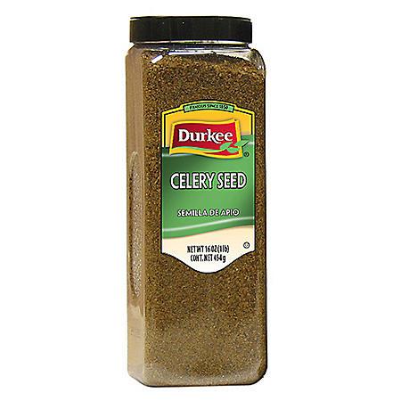 Durkee 16 oz. Celery Seed - 6 pk.