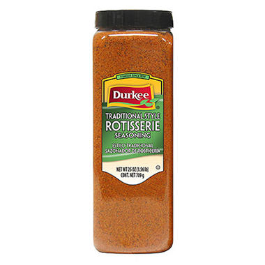 Durkee 25 oz. Rotiserrie Chicken Seasoning - 6 pk.