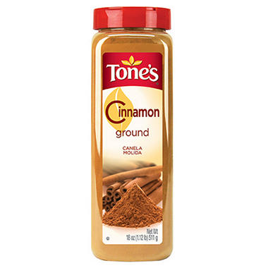Tone's 18 oz. Ground Cinnamon - 12 pk.