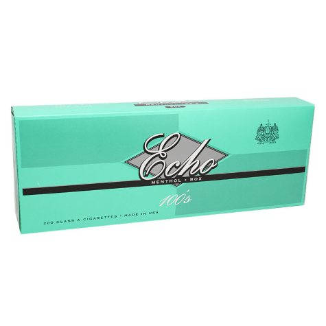 Echo Gold Menthol 100s Box (20 ct., 10 pk.)