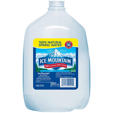 Ice Mountain 100% Natural Spring Water (1 gal. jug, 6 pk.)