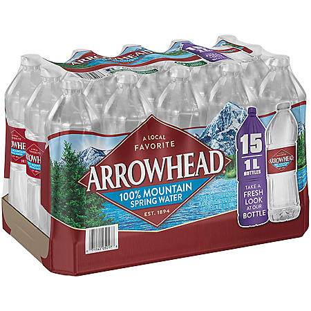 OFFLINE-Arrowhead Bottled Water - 15/1 liter