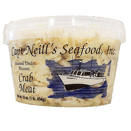 Captain Neill's Crab Meat, Backfin (16 oz.)