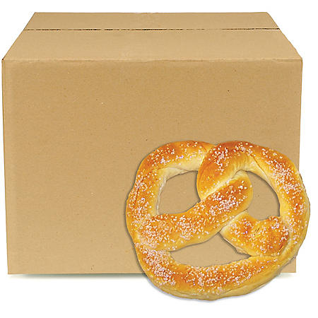 Case Sale: Sweet Dough Parbaked Cafe Pretzels, Frozen (60 ct.)