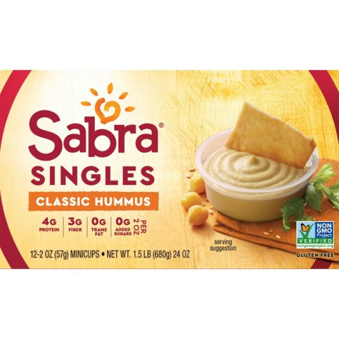 Sabra Classic Singles (2 oz., 12 pk.)