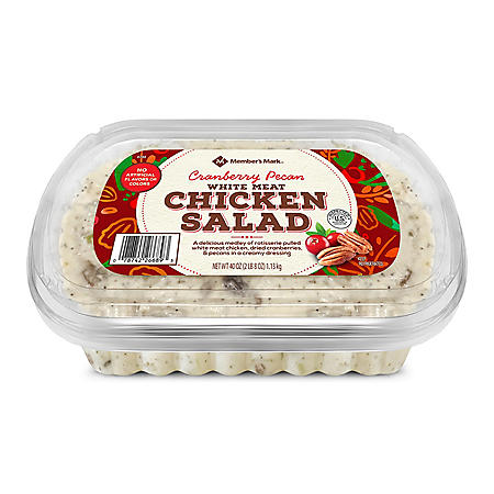 Member's Mark Cranberry Pecan Chicken Salad, White Meat (40 oz.)