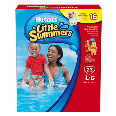 Huggies Little Swimmers, Size Large (32+ lbs.), 23 ct.