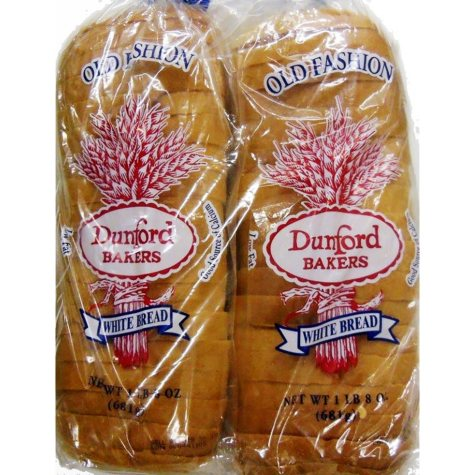 Dunford Bakers White Bread (24 oz., 2 ct.)