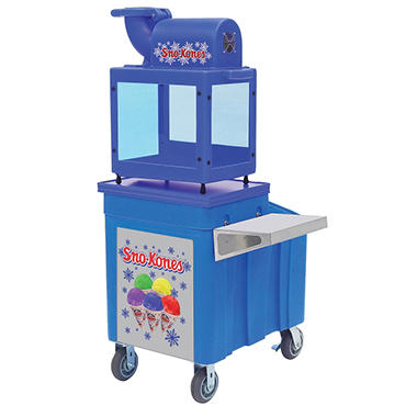 Gold Medal Sno King Machine and Sno King Caddy Bundle