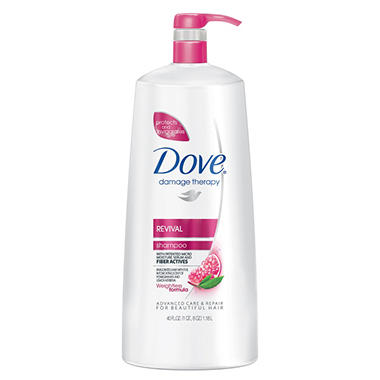 Dove Damage Therapy Shampoo - Revival - 40 oz. pump