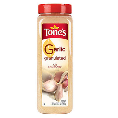 Tone's Granulated Garlic - 26 oz.