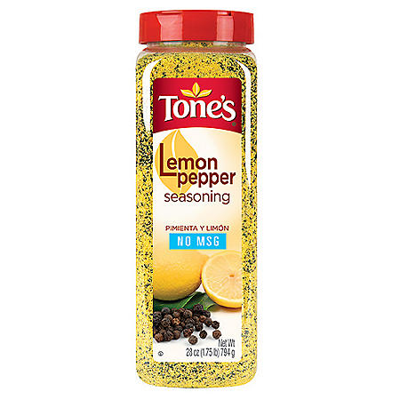 Tone's Lemon Pepper Seasoning (28 oz.)