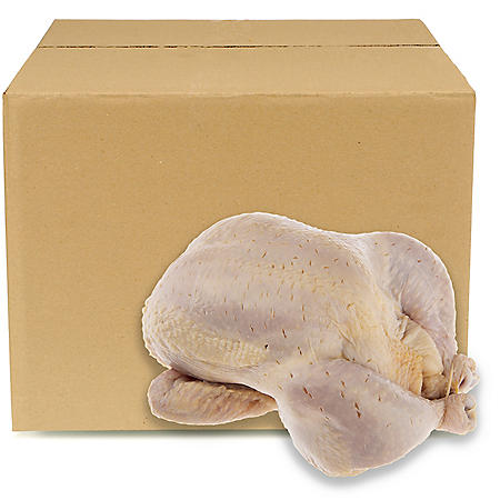 Member's Mark Uncooked Cafe Rotisserie Chicken, Bulk Wholesale Case (10 ct.)