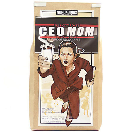 Nordaggio's Coffee Rocket Man/CEO Mom Whole Bean (2 lbs.)