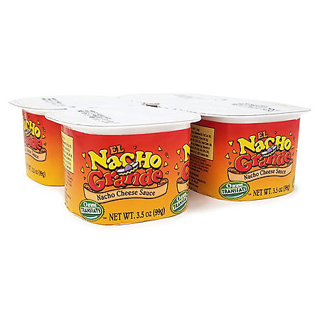 Gold Medal El Nacho Grande Cheese Sauce (3.5 oz., 48 ct.)