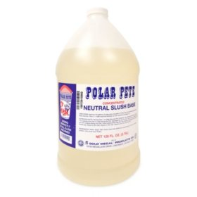Polar Pete Concentrated Neutral Slush Base (1 gal., 4 ct.)
